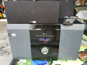 Complete bluetooth receiver and speaker set