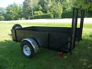 TRAILER  FOLD DOWN RAMPS FOR LOADING !!!