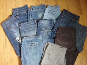Name brand jeans/shorts