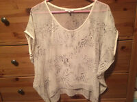 Aritzia blouses and tees for $40 each