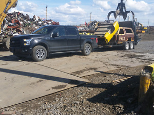 RUSTY'S HAULING Free scrap car removal and custom hauling
