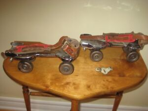 Antique Dominion Double Ball Bearing Roller Skates