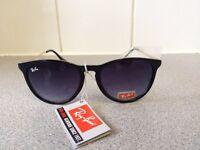 Ray Ban Erika Sunglasses RB4171 (gloss black frame)