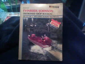 clymer evinrude / Johnson outboard shop manual