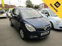 Vauxhall Agila DESIGN 1.2L 5 Door Manual Petrol 2009