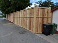 Fences and Decks built to suit!