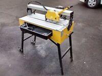 Professional Table / Flat bed / Bridge Sliding Tile Saw Cutter Natural Stone & Ceramics QEP Q83200