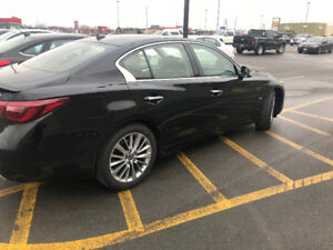 Infiniti Q50 3.0T Luxe AWD- Lease takeover - 17 months remaining