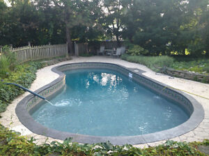 Swimming pool liners and installation London Ontario image 1