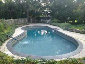 Swimming pool liners and installation