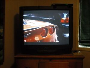 FREE SONY 35INCH CRT COLOR TV WITH REMOTE
