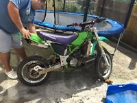 Kawasaki kx80 for sale as spare or repair