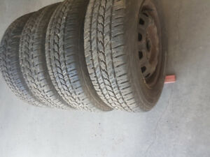 (175-70-13) 4 Allseason Tires of Tercel 80% Tread #L7