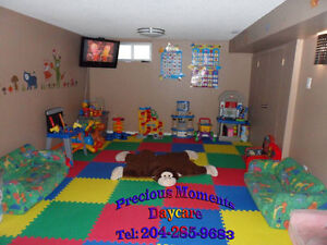Licensed Home Daycare - Spots available