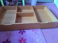 Underbed storage drawer. For cotbed / single bed £10