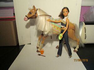 Barbie & Her Horse