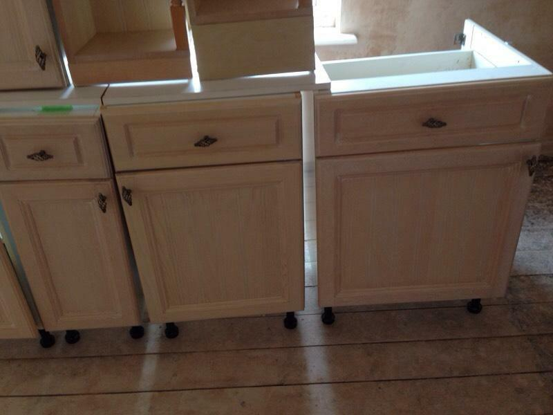 kitchen units for sale limed oak in worcester