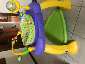 Activity jumpers and push toy