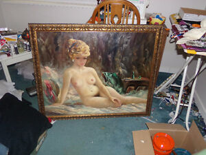 NUDE OIL PAINTING ...........for sale
