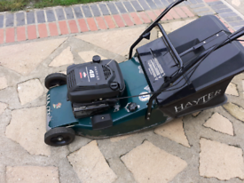 Hayter 48 selph propelled with roller and aluminium deck