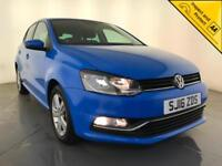2016 VOLKSWAGEN POLO MATCH £20 ROAD TAX CRUISE CONTROL 1 OWNER SERVICE HISTORY