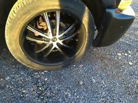 22 inch rins with good tires. Chevrolet