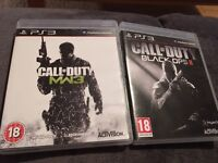 7 ps3 game bundle - some call of duty