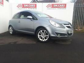 2008 58 VAUXHALL CORSA 1.2i 16V SXi 3 DOOR.GREAT RUNNER.LOW INSURANCE,FINANCE .