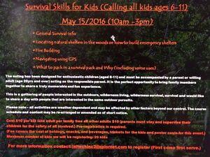 Survival course ages 6-11