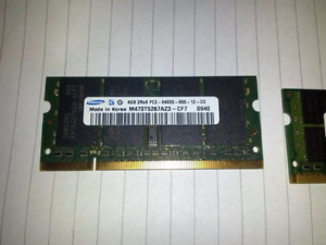 Laptop Memory ddr2 6gb total