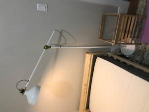 Ikea Ranarp floor reading lamp.