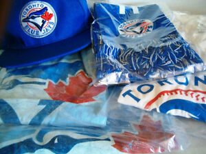 new Blue Jays hat cap T-shirts L & XL  $25 each $60/3
