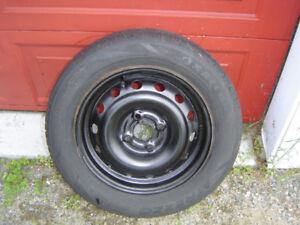 4 jantes Masda Protégé sur pneus été 195/55/ r15
