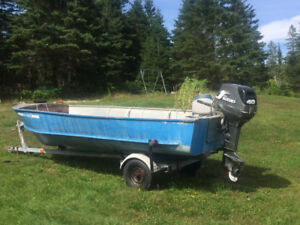 Boat to trade for ATV (last chance before winter storage)