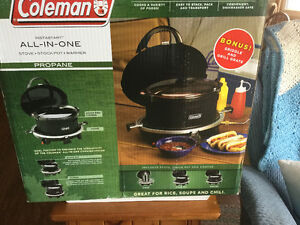 Coleman Propane All in One Camping Stove
