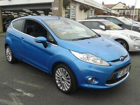 2010 FORD FIESTA 1.4 Titanium Automatic 3 Door From GBP7,195 + Retail Package
