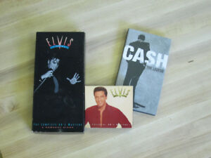 Cash and Elvis Collector box sets