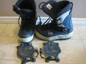 k2 Boots & Clicker Step-in Bindings