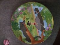 Kenley's collectable Disney plate- jungle book