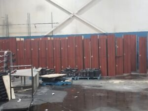 CLEARANCE-ALMOST 200 USED WOODEN LOCKERS