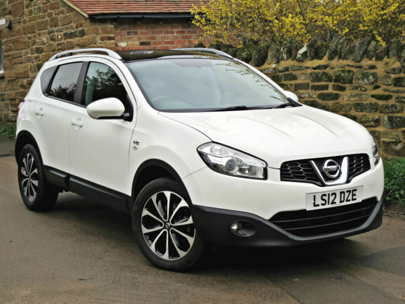 2012 nissan qashqai 1 5 dci 2wd n tec white in. Black Bedroom Furniture Sets. Home Design Ideas