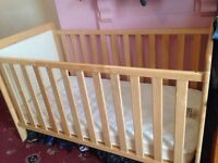 cot and Bed up to 6 years old ( Solid - Heavy ) EAST COAST
