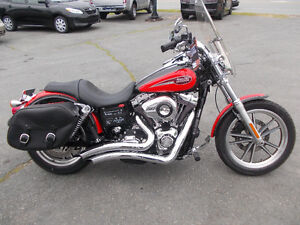 2008 Harley Davidson Dyna Low Rider LOADED UP Clean 18000kms