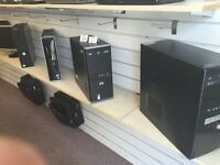 PC towers - Computers - Windows 7 + 3 Months Warranty