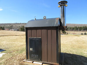 PORTAGE AND MAIN OUTDOOR WOOD STOVE FOR SALE