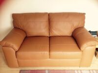 Brand New Next Leather 2 seater Sofa