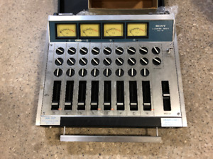 Vintage Sony 8-channel MX-16 mixer (1970s)