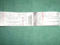 2 Tickets for Rush Concert Beside Stage Sec,228 Row.11