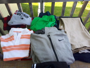 Boys clothing lot size 8