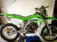 Kawasaki klx 450 r 2008 enduro , motocross not crf or Ktm